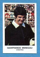 CALCIATORI 1975-76 Panini - Figurina-Sticker n. 464 - MENEGALI -PERSONAGGI-Rec