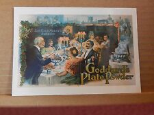 Postcard Advertising Goddards Plate Powder Old Advert Modern card unposted