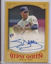 2016 Gypsy Queen Miguel Sano RC Gold SP On Card Auto/Autograph # 44/50 Twins