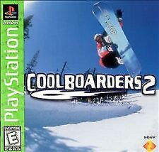 Cool Boarders 2  (Sony PlayStation 1, 1997) PS2 PS3 Fast Shipping!