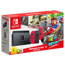 Nintendo Switch Konsole Rot Inkl. Super Mario Odyssey