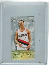 2008-09 TOPPS TREASURY BRANDON ROY MINI EXCLUSIVES SILVER 17/25 PORTLAND