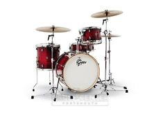 Gretsch Catalina Club 4 Piece Drum Set With 20 Bass Drum - Gloss Crimson Burst