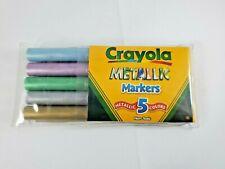 Crayola Metallic Markers Pack of 5