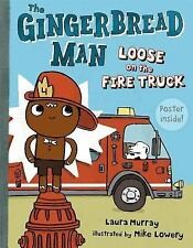 The Gingerbread Man Loose on the Fire Truck-ExLibrary