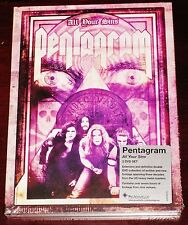 Pentagrama: TODAS SUS Sins 2 DVD SET 2015 Peaceville records Alemania dvdvile19