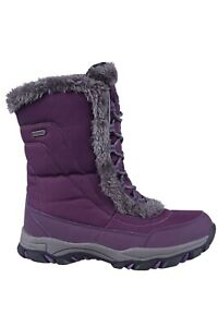 Mountain Warehouse Ohio Womens Snow Boots Winter Walking Snowproof Ladies