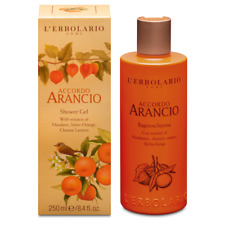 L'erbolario Accordo Arancio Shower Gel  Mandarin&Bitter Orange 250ml