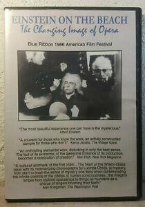 Einstein on the Beach DVD Opera Philip Glass 1985 Robert Wilson VERY RARE