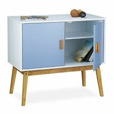 Relaxdays Commode Scandinave Retro table D appoint HxLxP 72 x 80 5 40 Cm...