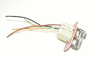 99 00 01 02 03 Ford F250 Super Duty HVAC Blower Motor Resistor F7UH-19A706-AA