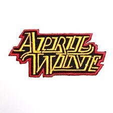 April Wine Hard Rock Pop Band Music Memorabilia Punk Shirt Applique Iron patch