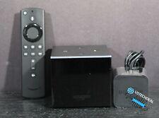 Fire TV Cube (1st Gen), hands-free with Alexa 4K Ultra HD +Alexa Voice Remote