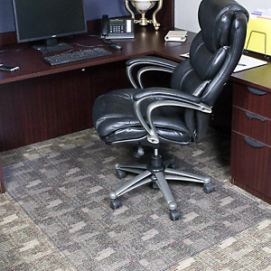 Office Chair Mat 46 X 60 In Heavy Duty Clear Computer Desk Floor Protector BPA