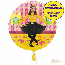 THE WIGGLES PARTY SUPPLIES 45cm EMMA FOIL HELIUM BALLOON BIRTHDAY DECORATIONS