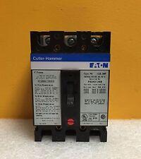 Cuttler Hammer FS340125B, 125A, 480 VAC 50/60 Hz, 3 Pole Circuit Breaker, Tested