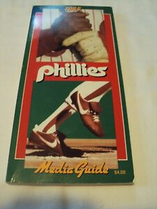 1985 Phillies media guide