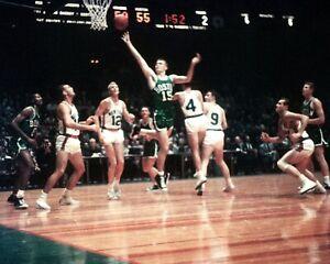 TOM HEINSOHN 8X10 PHOTO BOSTON CELTICS BASKETBALL NBA