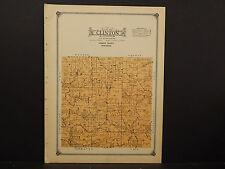 Wisconsin, Vernon County Map, 1915 Clinton Township O2#48