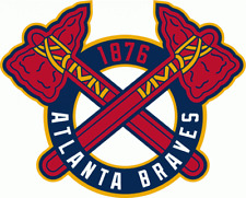 Atlanta Braves 4 Inch MLB Color Die-Cut Decal / Sticker *Free Shipping