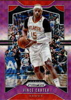 2019-20 Panini Prizm Purple Wave #33 Vince Carter Atlanta Hawks