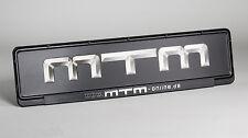 Original MTM Kennzeichenträger 460mm Kennzeichenhalter Nummernschild Schwarz