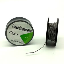 15Feet Fused Clapton Wire for Building RBA Heating Coil