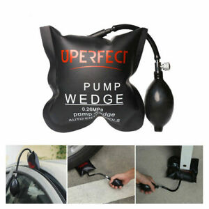 Air Wedge Pump Up Bag Inflatable Auto Tool Entry Shim Set Door Window Hand Tool