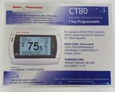 Radio Thermostat Ct80 7 Day Programmable Home Automation WiFi and ZWave Capable