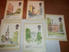 London Landmarks 7/5/1980 PHQ 43 set Royal Mail Stamp Card Serie First Day Cover