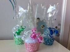 Job lot X 5 Ladies Sock Cupcakes - Ideal Gifts For Thankyou's,Birthdays.