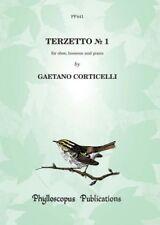 Terzetto Nº 1 para obstetricia, BN y piano Gaetano Corticelli arr: Fabio Rizzi Oboe, BA