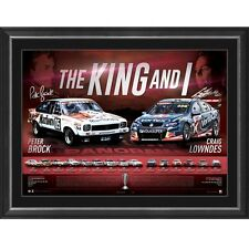 Peter Brock and Craig Lowndes The King and I