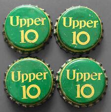 Vintage Lot Of 4 Upper 10 Cork Bottle Caps
