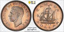1949 Canada Silver Dollar PCGS MS66 Registry Coin KM 47