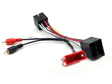PC9-404 AUDI A3 d) 2003 to 2004 CONCERT  AMPLIFIED RCA TO ISO ADAPTOR STEREO