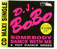 Maxi CD - D.J. BoBo - Somebody Dance With Me - A4460