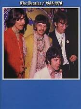 "THE ""BEATLES"" 1967-1970. 28 TRACKS ARRANGED FOR GUITAR/PIANO/VOCAL MINT"