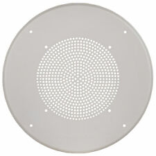 "Dukane Round Speaker Grill for 8"" Commercial Ceiling Speaker - Off-White"