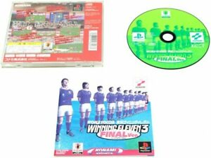 Video Game PS1 WORLD SOCCER JIKKYO WINNING ELEVEN 3 Final Sony Playstation Japan
