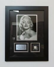 """Awesome MARILYN MONROE Framed Piece of the Original Hollywood Sign - 14"""" x 18"""""""