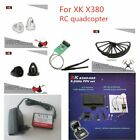 XK X380 Accs Parts Receiver Board/Balance Charger Adapter/CCW/CW Bullet Head Nut