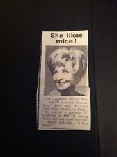 L1-8 Ephemera 1963 Picture Article June Thorburn Bbc Tv Fireside Story