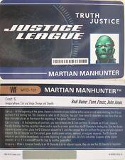 Heroclix world's Finest wfid - 101 Martian Manhunter