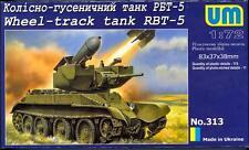 UM-MT Models 1/72 Soviet RBT-5 WHEEL TRACK TANK