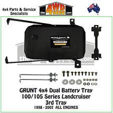 Grunt 4x4 Dual Third Battery Tray 100 105 Series Landcruiser Toyota