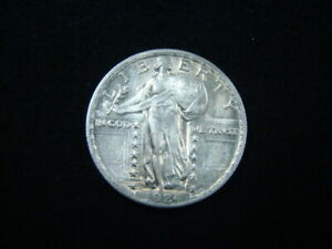 1924 Standing Liberty Silver Quarter About Uncirculated 10405