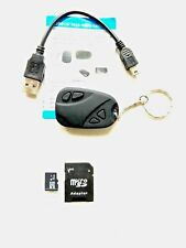 NEW HD Mini Fob Key Ring Hidden Camera Video Recorder 808 Keyring Keychain UK