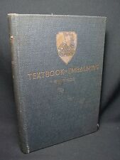 Antique Embalming Textbook 1933 Champion Autopsy Medical Photo Diagram Picture