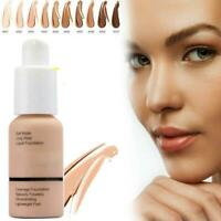 PHOERA Foundation Makeup Full Coverage Fast Base Brighten lasting Shade